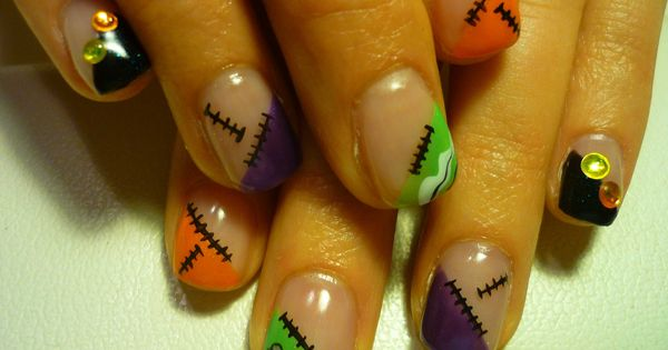 Nail Art Designs Ideas 2013 Halloween Nail Art 2013