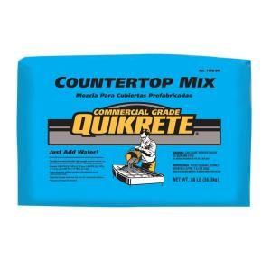 Quikrete 80 Lb Commercial Grade Countertop Concrete Mix 1106 80