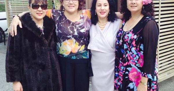 The 4 Sisters At Marcys Wedding