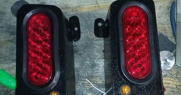 Jeep Xj Mj Tail Light Box