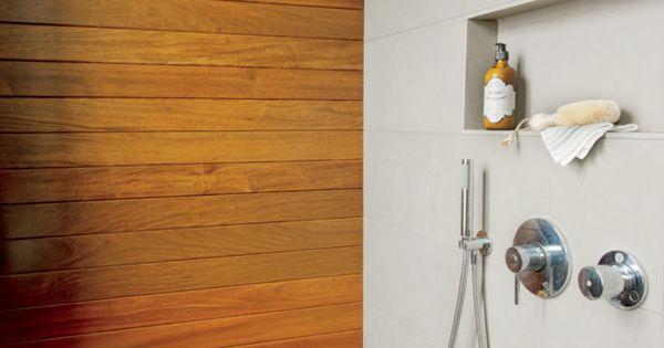 Bois et minimalisme dans la salle de bains d cormag for Decormag salle de bain