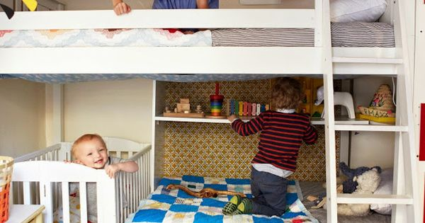 Three kids in a tiny space? No problem! (A CUP OF JO: