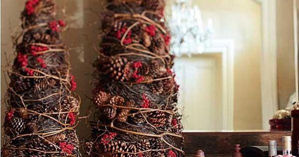 Arboles de navidad decorados peque os y elegantes pi as - Arbol navidad elegante ...