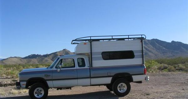 Belair Camper Shell And Roof Rack Pickup Truck Camping