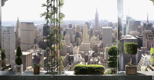 вид на нью йорк из панорамного окна окно вид из окна и вид