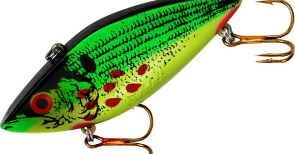 "Cotton Cordell Super Spot Lipless Crankbait Green Tiger 3/""L"
