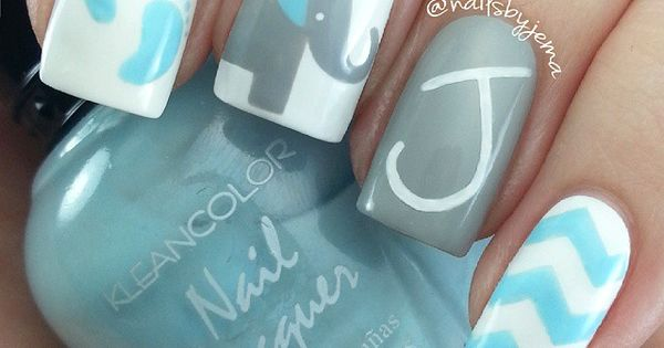Instagram media by nailsbyjema - These were inspired by the birth of