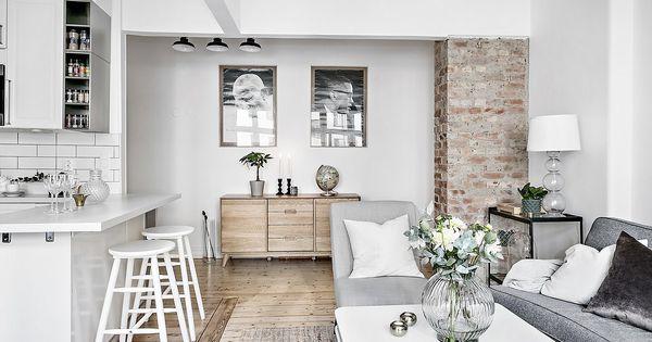 Cocina abierta en un piso peque o peque as cocinas for Cocinas pisos pequenos