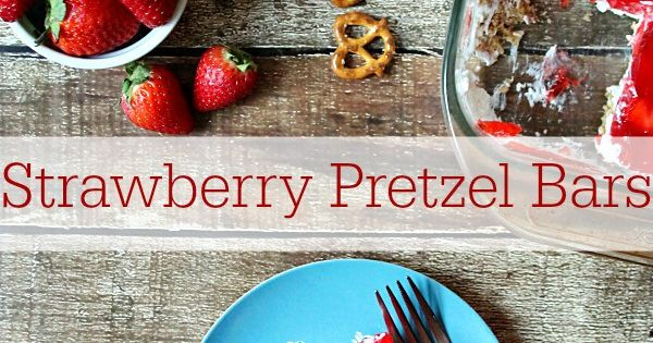 Strawberry pretzel, Pretzels and Strawberries on Pinterest