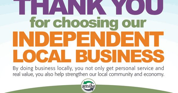 Amiba is a great resource for your buy local campaign. www ...