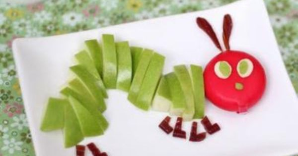 Cutefoodforkids.com Tons of cute kid food ideas!!! Very Hungry Caterpillar & other