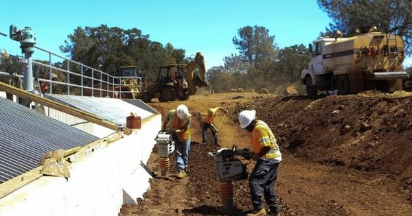 Bureau of reclamation subcontractors work on a restoration Find subcontracting work