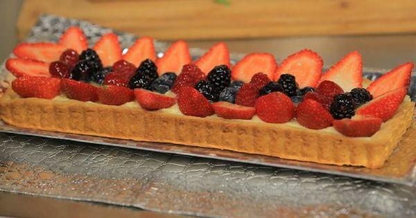 Cbc Sofra طريقة تحضير تارت الفراولة و التوت سالي فؤاد Recipe Food Pie Tart Recipes