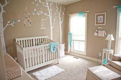 10 encantadores dormitorios de bebé | Decoracion habitacion ...