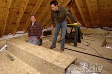 Turn Unused Attic Space Into Much Needed Storage This