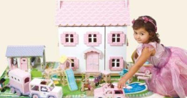Dream Set Up Doll House Kids Playtime Toys