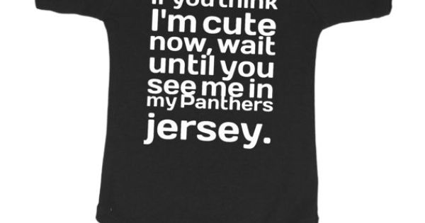Carolina Panthers Inspired Onesie | Boutique-quality garment designed for maximum comfort and