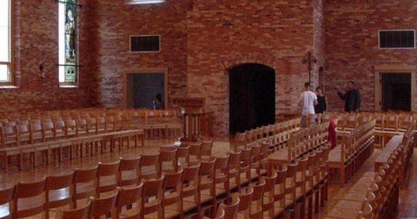 Inside Old St Joseph Church At St Norbert College