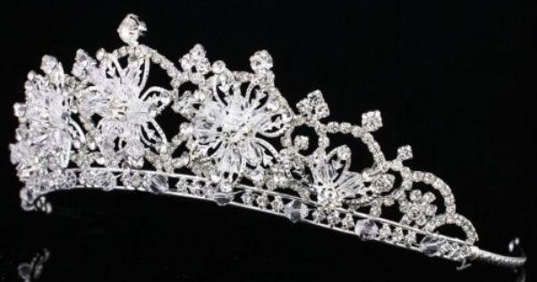 Strass Cristal Serre-t/ête diad/ème Tiara couronne de mariage