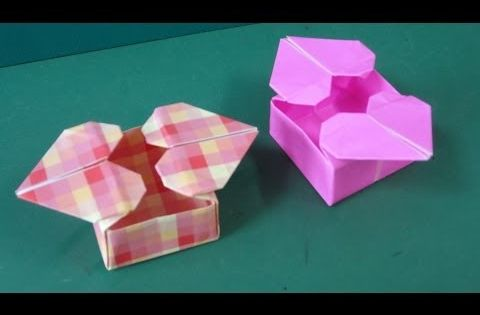 Great ideas for valentine 39 s day heart box easy to do for Romantic origami ideas