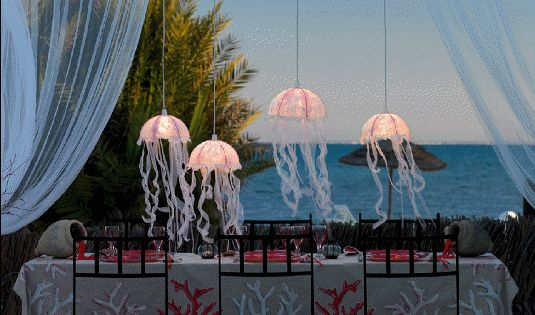 Jelly Fish lamps Germani Decor Tips or Tricks: Light up your Summer