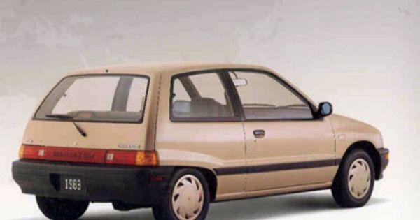 Daihatsu Charade Daihatsu Subcompact Generation Pictures