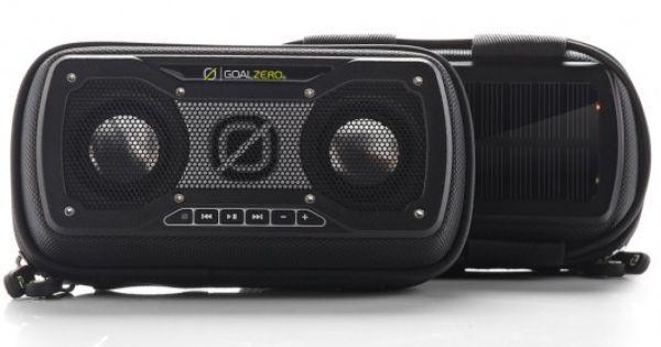 Goal Zero Announces Rock Out 2 Solar Speaker Goal Zero Portable Solar Power Portable Speaker