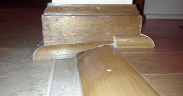 Uneven Floor Transition Transition Flooring Uneven Floor Flooring