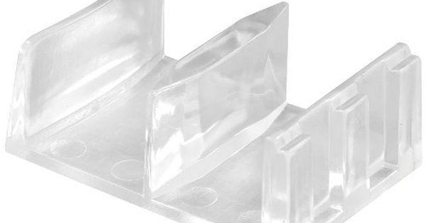 Primeline Products M 6058 Shower Door Bottom Guide Assemblypack Of