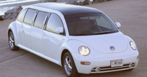 Limo bug. My dream car, a bug and it will fit my