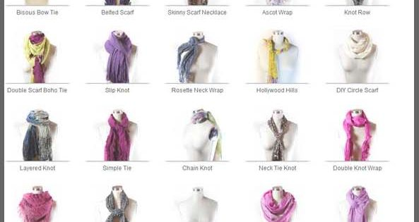Scarf Ties are well followed here on FicturesCloseUp as retailers strive for
