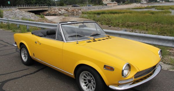 Lovely Fiat 124 Spider This Should Be A B Series Car With A