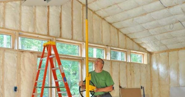 How To Hang Drywall Hometips Anatomia Pinterest