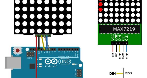 Matriz De Leds Control E Robótica Arduino Arduino Projects Electronics Projects
