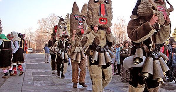 halloween and the kukeris festivals Kukeri are elaborately costumed bulgarian men, and sometimes women, who  perform traditional rituals intended to scare away evil spirits closely related.