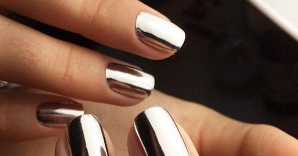 Le unghie a specchio tirate a lucido nails pinterest - Unghie gel specchio ...