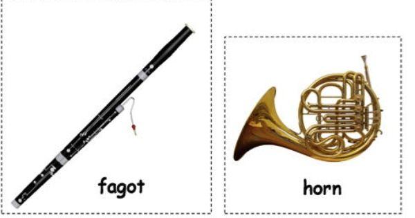 instrumenten peter en de wolf  peter und der wolf
