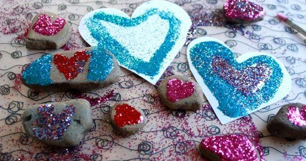 Rock Valentine Art Project 33