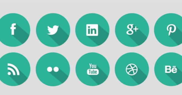 More Of The Best Free Social Networking Icons Blog Marketing