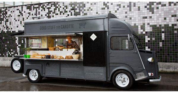 Carotte Catering Stockholm 移動販売車 フードトラック シトロエン