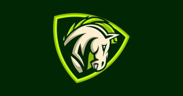 Horse Sports Logo Design Horse Logo Design Initials Logo Design