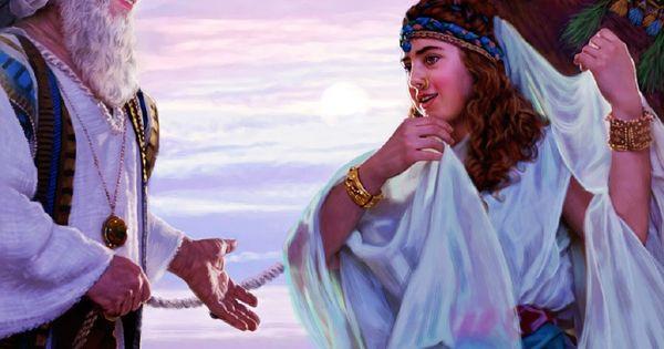 Rebeca Un Ejemplo De Fe G 233 Nesis 24 58 Bible Bible Art And Jehovah