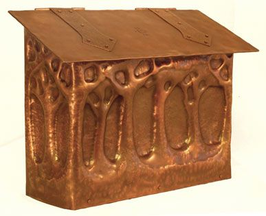 Incredible Greene And Greene Inspired Mailbox Art And Craft Design Copper Art Copper Work Arts and craft mailboxes