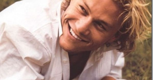 Heath Ledger one of my first celebrity crushes