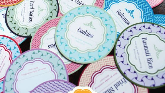 Free mason jar printable labels