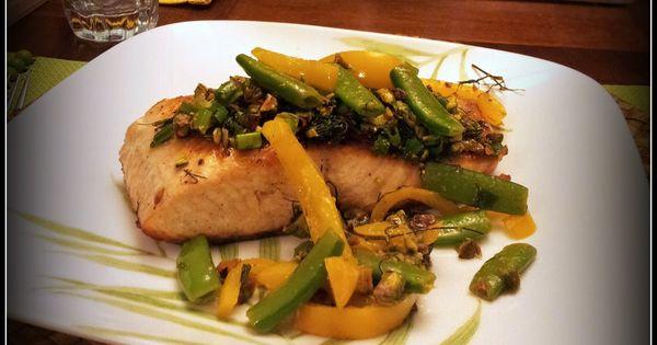 Snap peas, Pistachios and Salmon on Pinterest