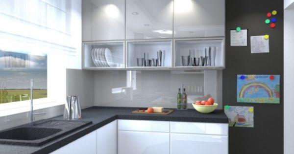 Meble Kuchenne Slupsk Projekt Malej Kuchni Dla Klienta W Slupsku Stol Bud Kitchen Cabinets Kitchen Home Decor