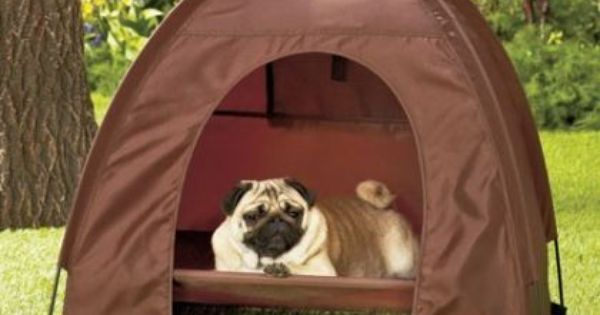 Dog Pet Bed Tent Dome Covered House Ventilation www.facebook.com/...