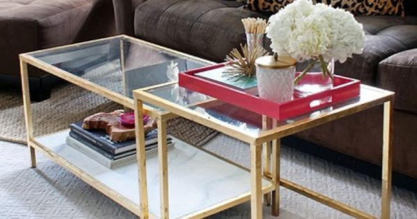 5 Of The Prettiest Ikea Hacks Nesting Tables Ikea Nesting Tables And Coffee