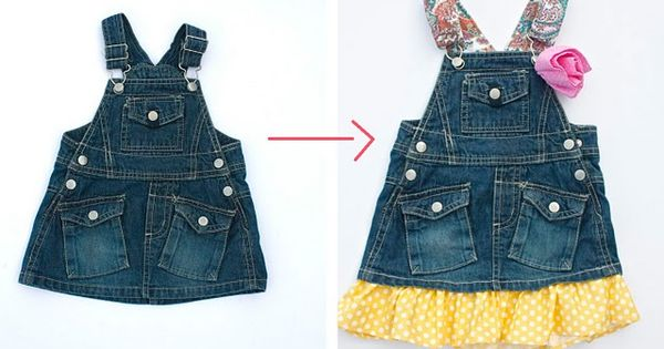 upcycled clothing ideas | Kids Clothing Upcycling Ideas